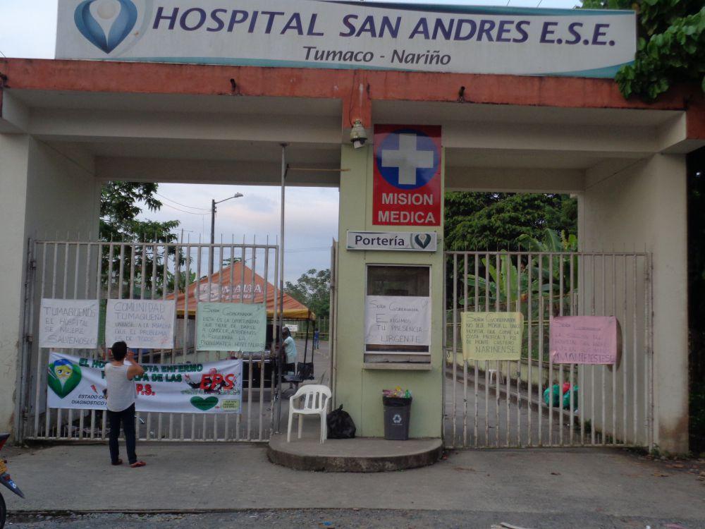 hospital san andres de tumaco