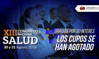 los cupos se han agotado xiii congreso 2018 3 1