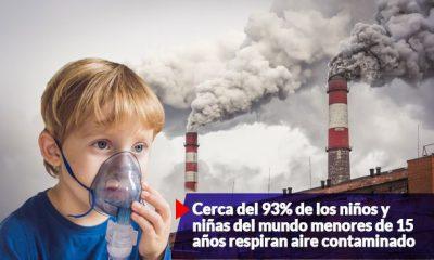 contaminacion medio ambien. afecta a ninos y ninas