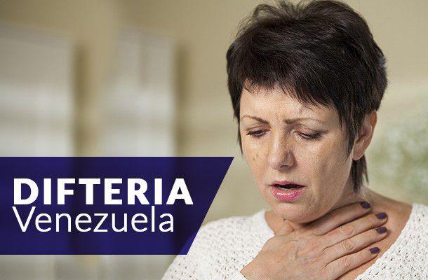 difteria en venezuela y colombia y reporte a la ops