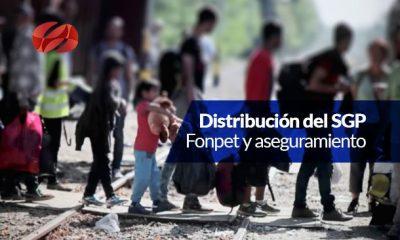 distribucion de los recursos del sistema general de participaciones 0