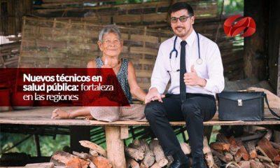 nuevos tecnicos en salud publica fortaleza en las regiones