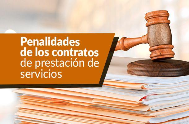 penalidades contratos prestacion 0