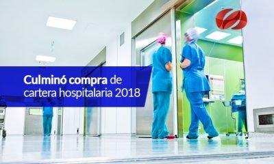 culmino compra de cartera hospitalaria 2018