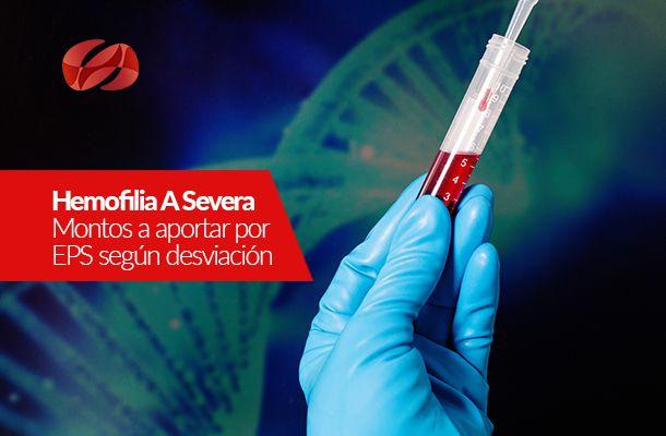 hemofilia a severa montos a aportar por eps
