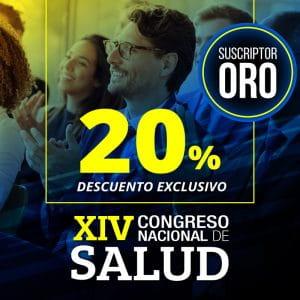 XIV Congreso Nacional de Salud (Descuento exclusivo)