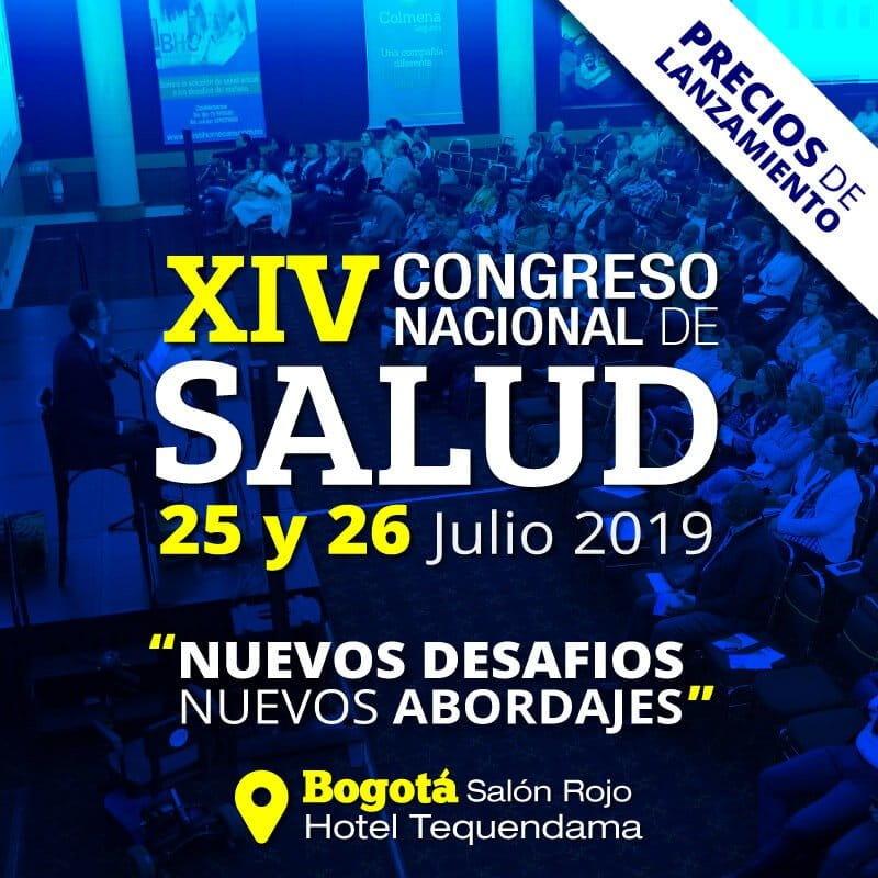 XIV Congreso Nacional de Salud (Precios de lanzamiento)