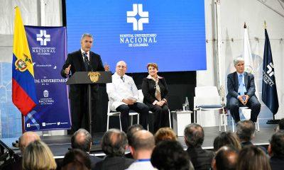 Ojalá algún día no muy lejano Colombia tenga un Premio Nobel de Medicina: Iván Duque