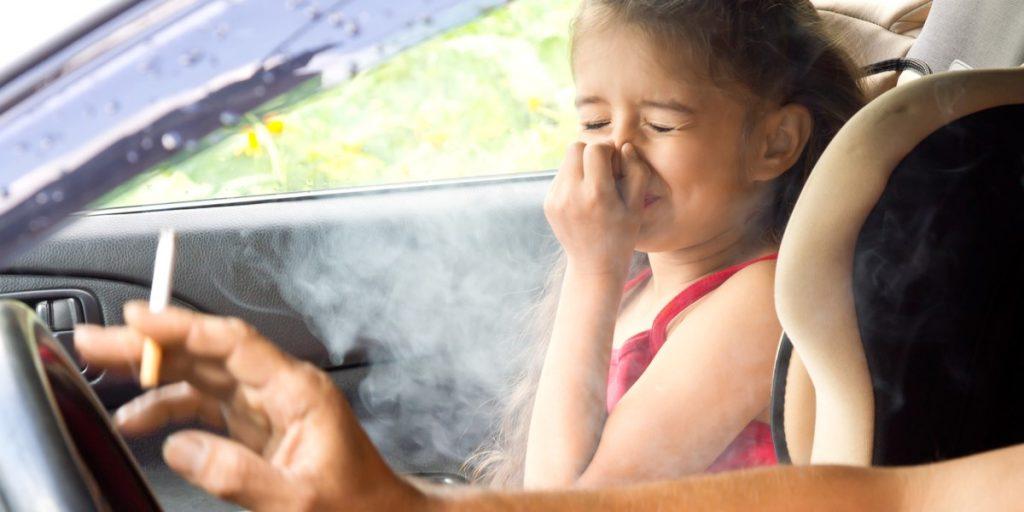 Consecuencias adversas del tabaco en los niños
