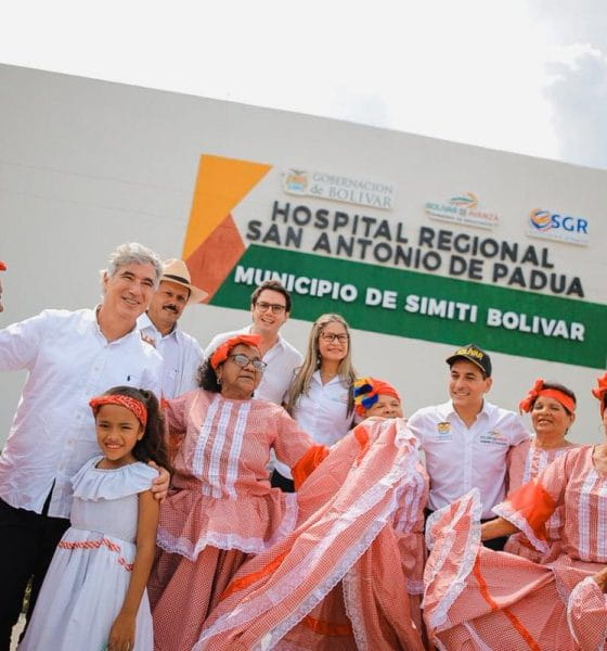 Minsalud inaugura hospital en Simití Bolívar