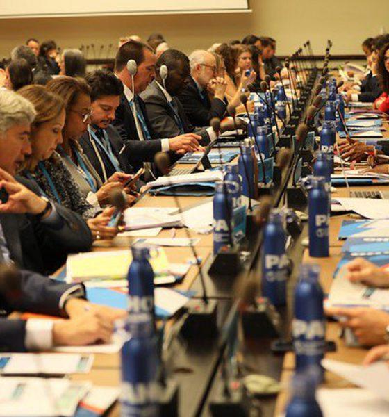 Ministros de salud de las Américas participan en la 72ª Asamblea Mundial de la Salud