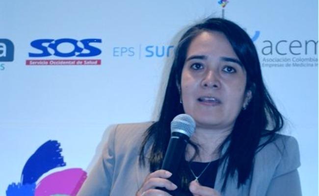 Adriana Robayo Directora del Instituto de Evaluación de Tecnologías de Salud IETS