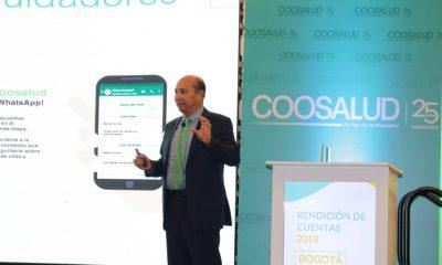 Buen año para Coosalud, ingresos crecieron 5,5% y afiliados aumentaron 3,3%