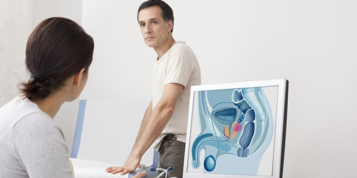 examen de próstata congelador