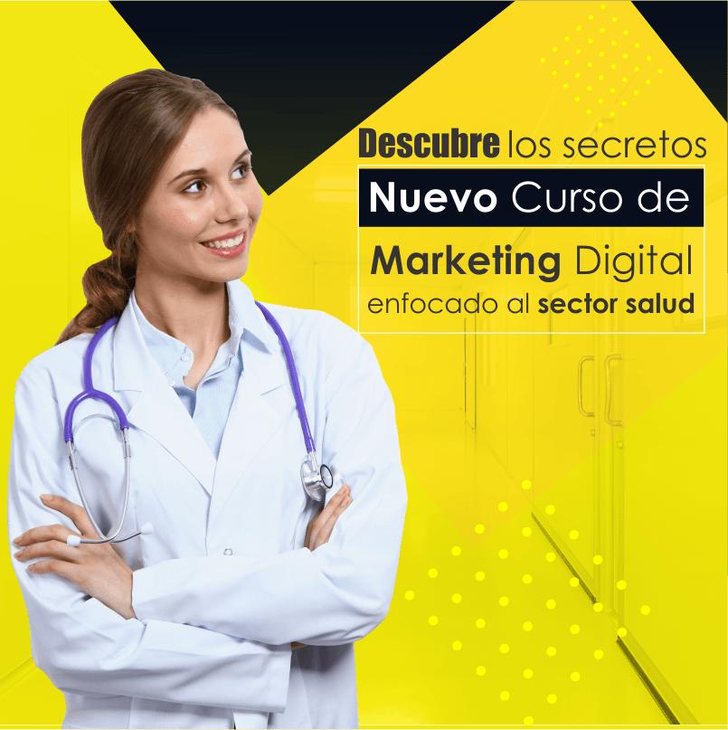 Curso de Marketing digital aplicado al sector salud