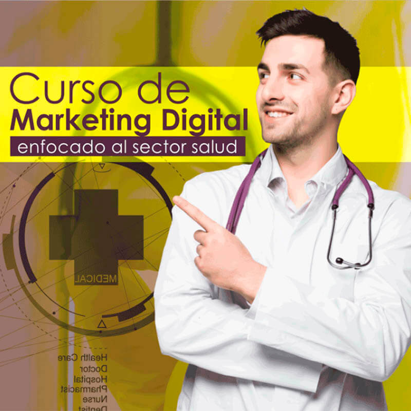 Curso de Marketing digital aplicado al sector salud