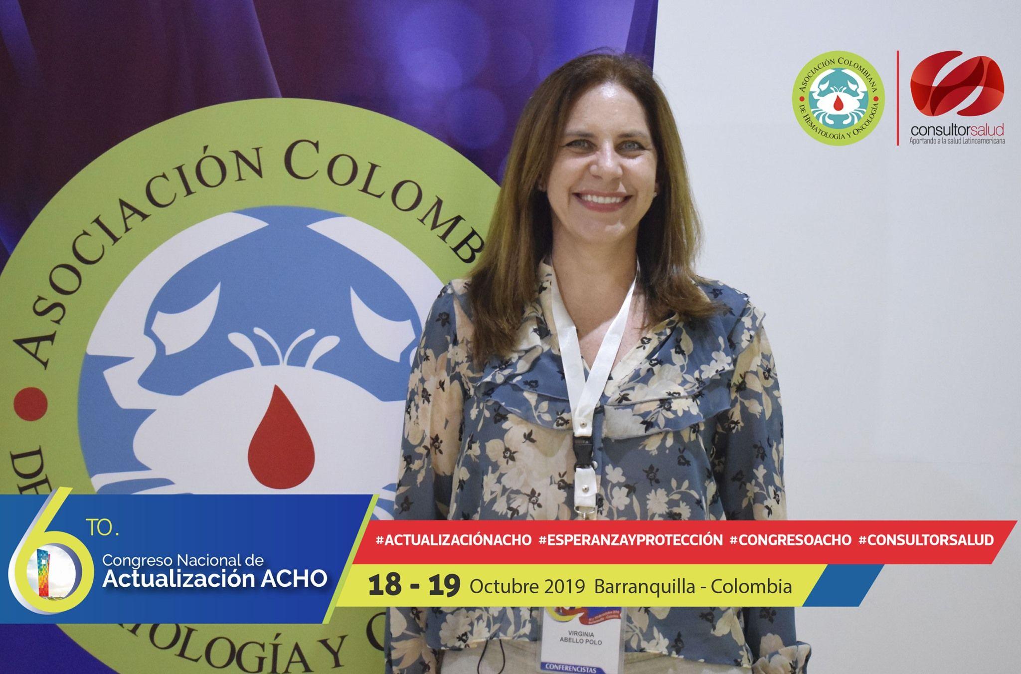 Virginia Abello Presidente ACHO