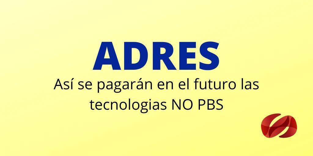 ADRES resolucion 41656 de 2019 mecanismos pagos NO PBS