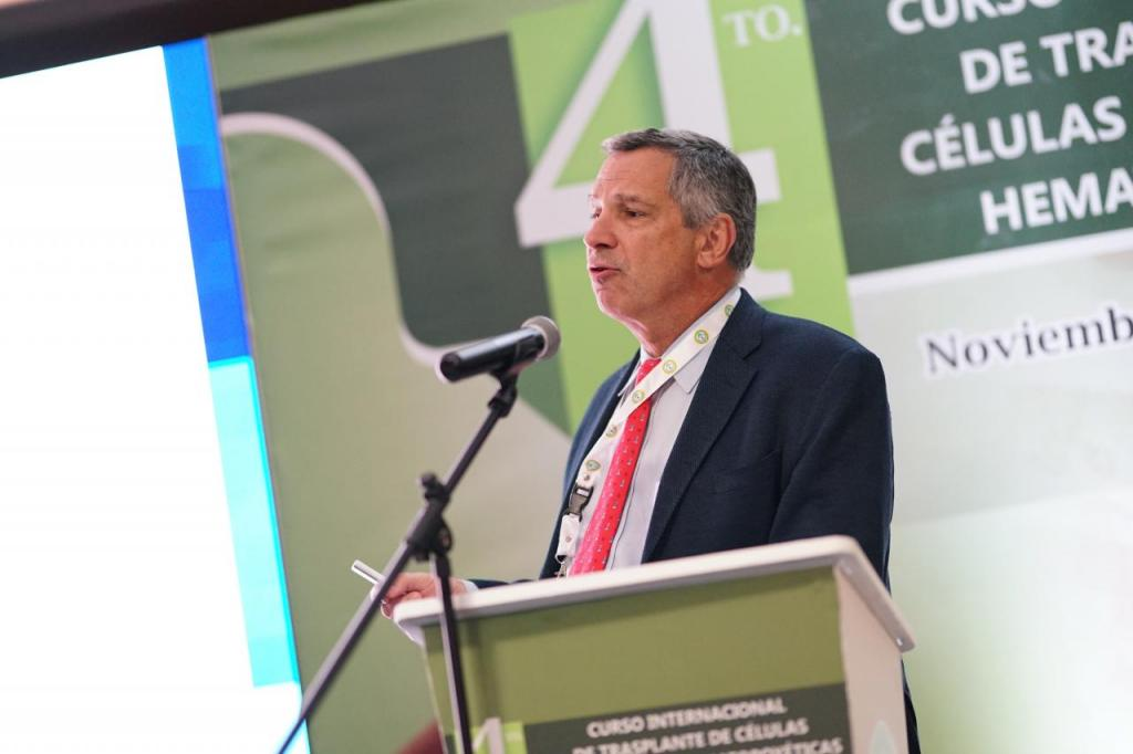 Sergio Giralt Curso Internacional de Trasplante de Celulas Progenitoras Hematopoyeticas ACHO 2019