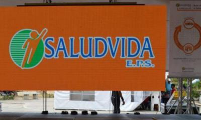 formulan pliego de cargos al representante legal de Saludvida EPS
