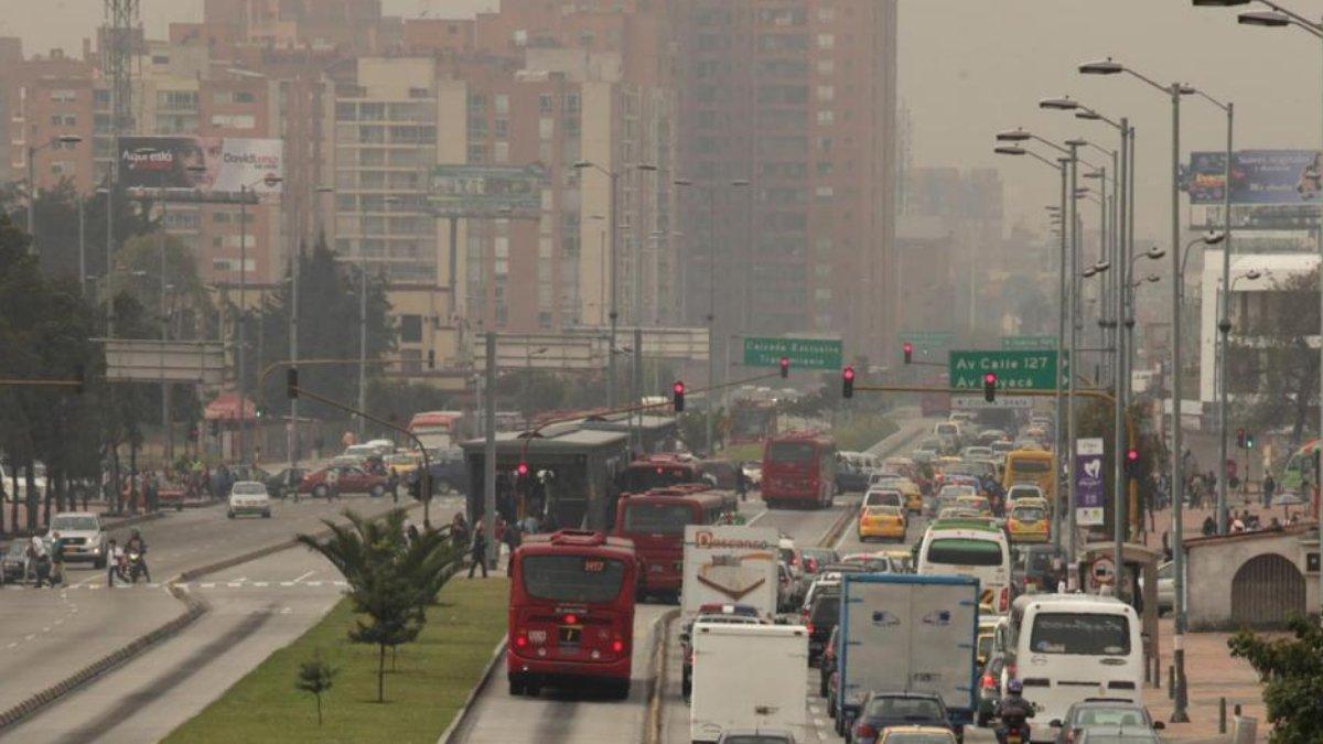 Bogotá se prepara ante posible alerta por contaminación del aire