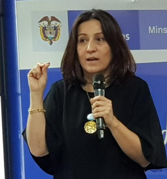 Diana Isabel cardenas pasa a la ADRES