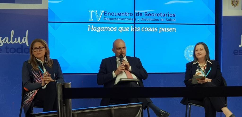 Ivan Dario Gonzalez Ministro de Salud E
