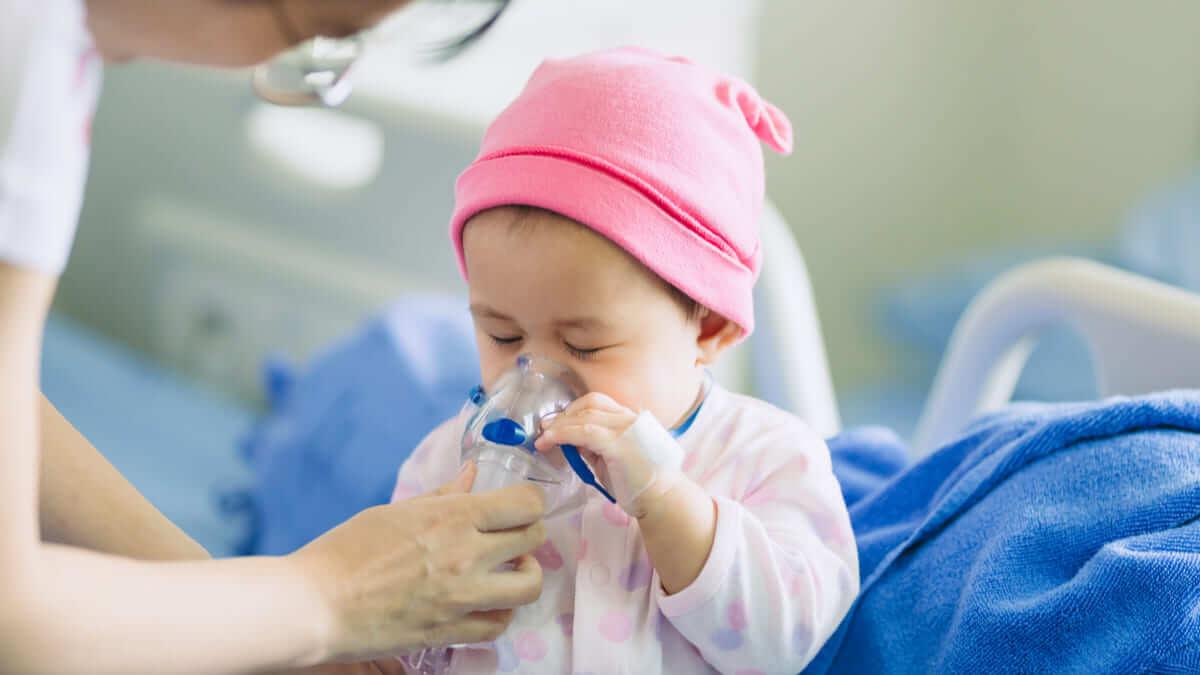 Aumento de neumonía en niños