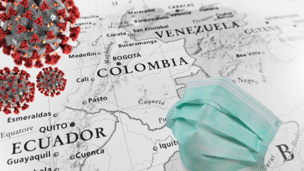 Coronavirus aumenta su riego en Colombia