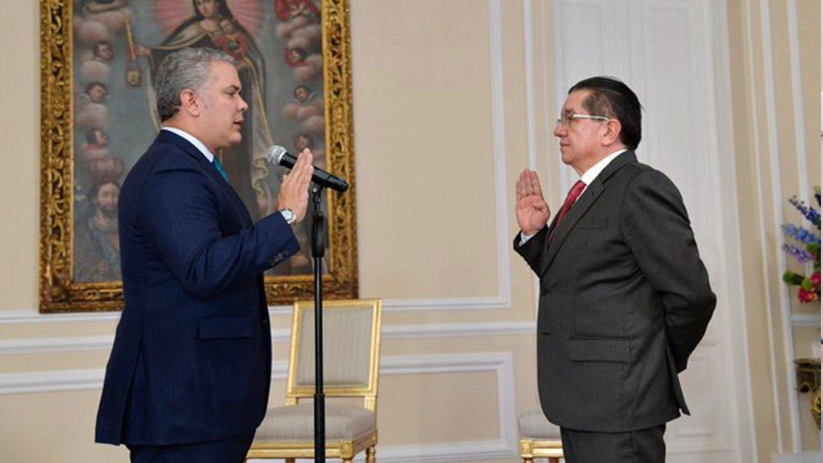 Fernando Ruiz oficialmente nuevo Ministro de Salud y Protección Social