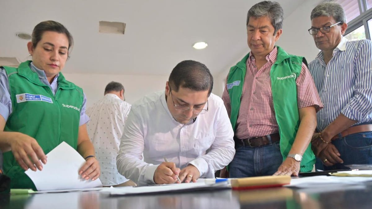 Supersalud ordena intervención forzosa a Hospital Regional de San Marcos en Sucre