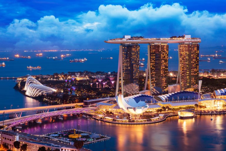 Detectives de salud frenan la epidemia de covid 19 en Singapur