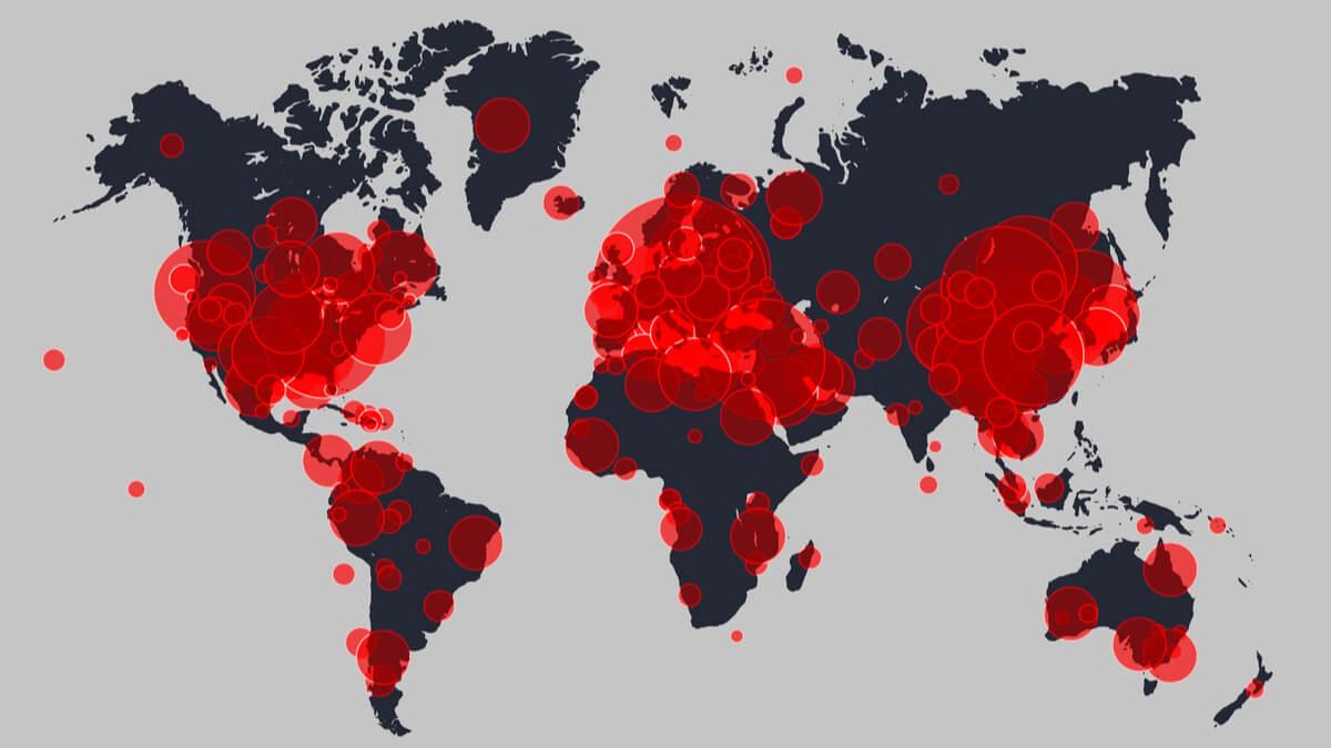 Así avanza el coronavirus en el mundo