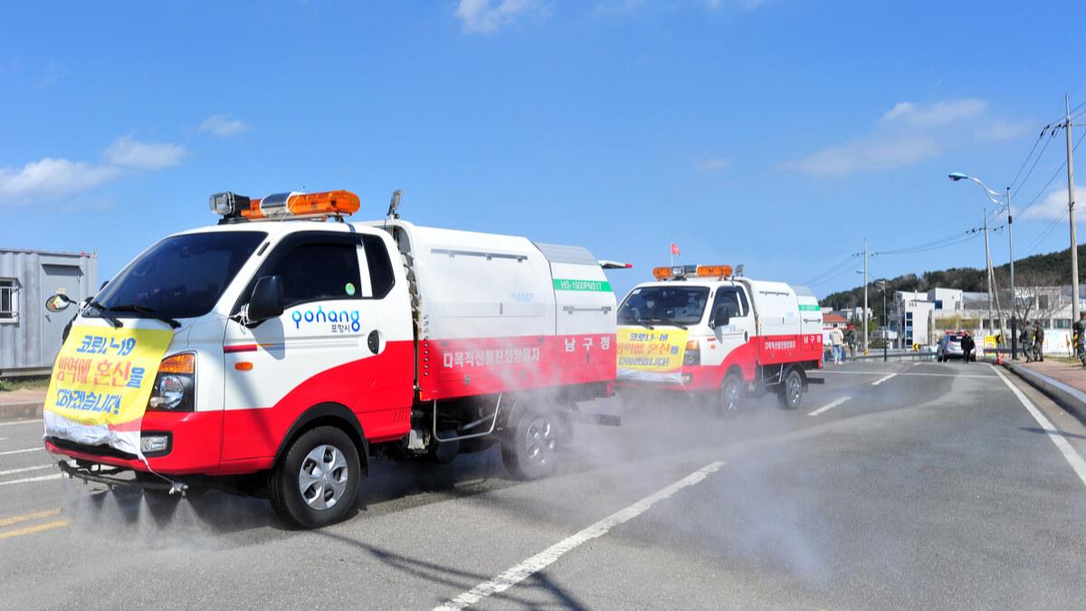 Corea del Sur implementó centros de diagnóstico de Covid-19 en vehículos