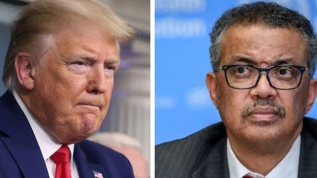 Trump suspende financiamiento a la OMS