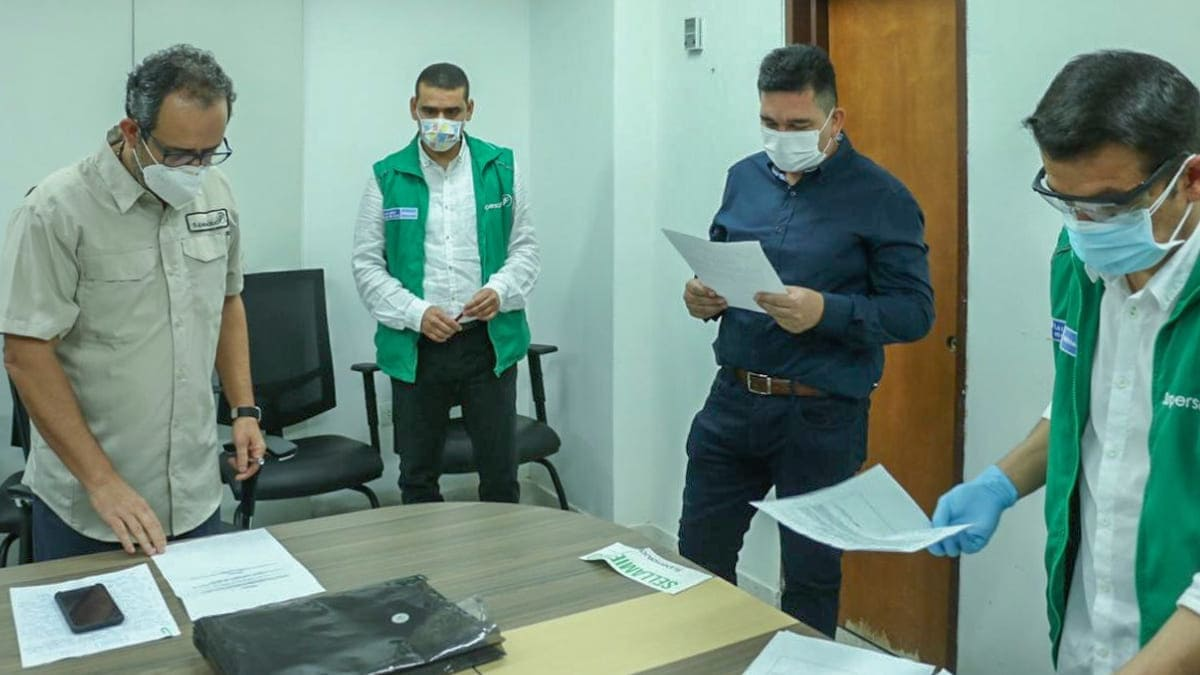 Intervención a hospital en Santa Marta