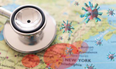 Número de casos de Covid-19 en Ámerica se duplicó en menos de tres semanas