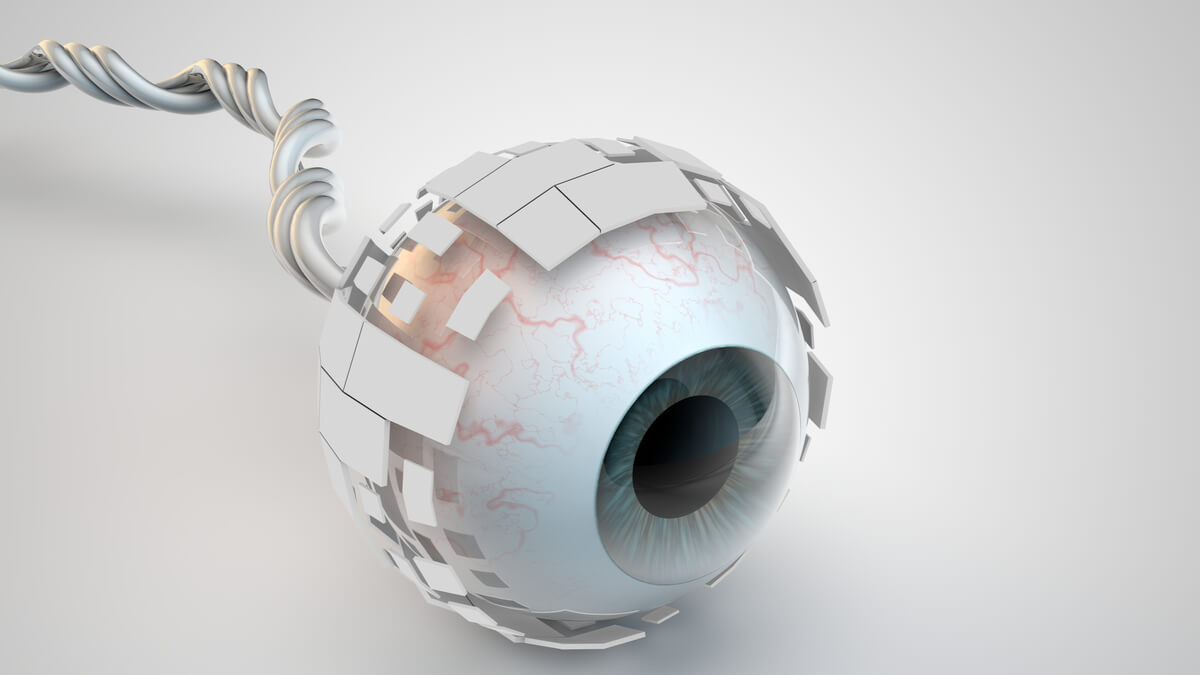 Desarrollan el primer ojo artificial esférico con retina 3D