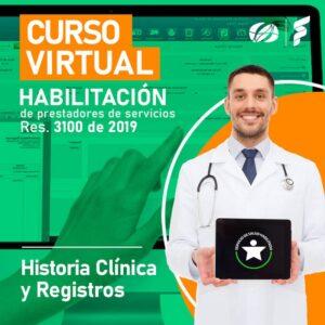 imagen curso virtual Habilitación historia clínica