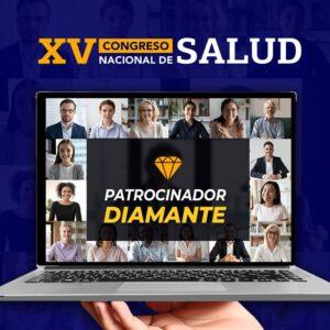 Patrocinador DIAMANTE- XV Congreso Nacional de Salud