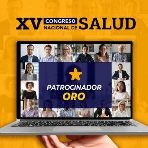 Patrocinador ORO – XV Congreso Nacional de Salud