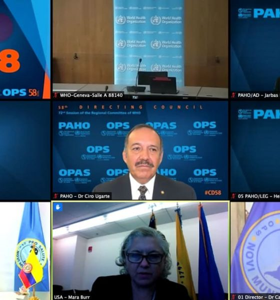 Países de América y la OPS consolidan acuerdos regionales