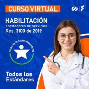 Curso virtual: Res. 3100 de 2019, Todos los Estándares