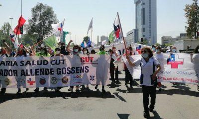 Chile reclama mayor presupuesto para la atencion en salud. Credito: Confusam Chile