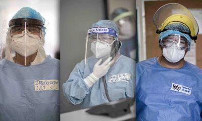 Trabajadores de la salud condecoración en México