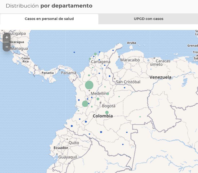 mapa THS