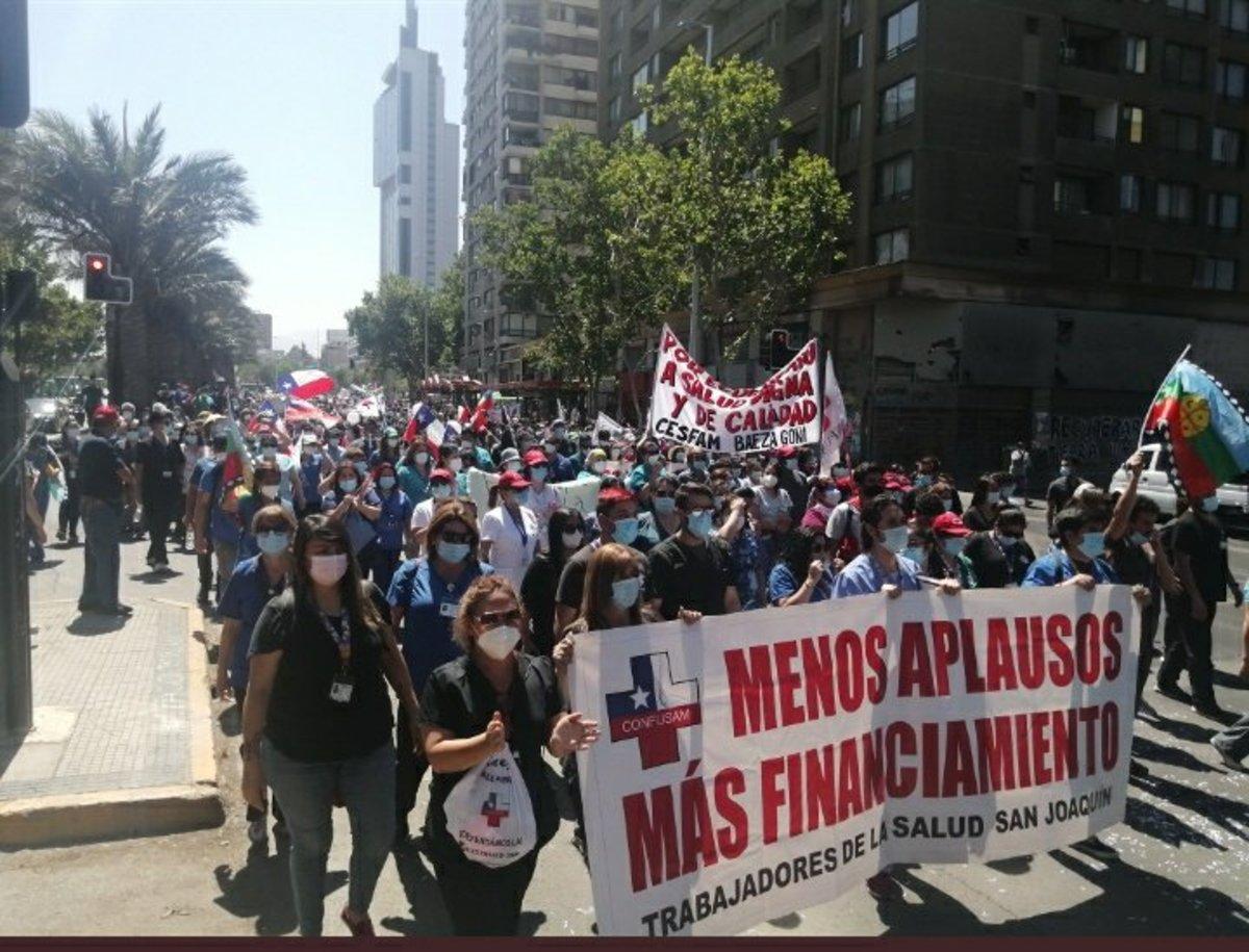 paro medicos Chile indefinido