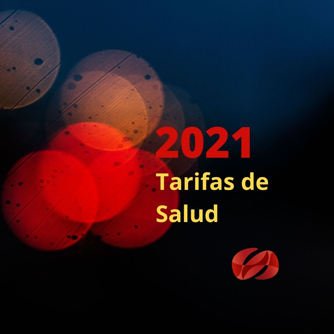 Manual tarifario SOAT 2021 en excel