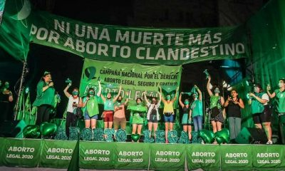 despenalizan aborto en Argentina. Foto Campaña Aborto Legal