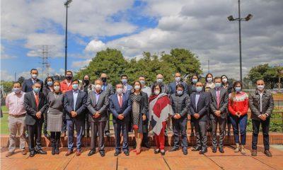 Equipo del Ministerio de Salud en el año de la pandemia